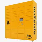 Amazon livraison casiers 04 3d model