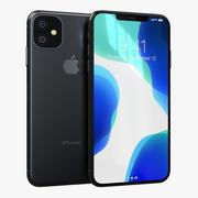 苹果iPhone 11 Pro太空灰 3d model