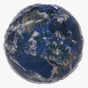 21K Relief Earth 3D模型-水深纹理 3d model