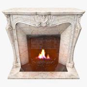 Fireplace 3d model