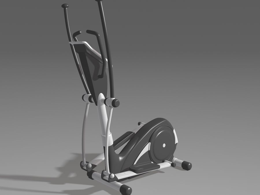 体操器材收藏 royalty-free 3d model - Preview no. 4