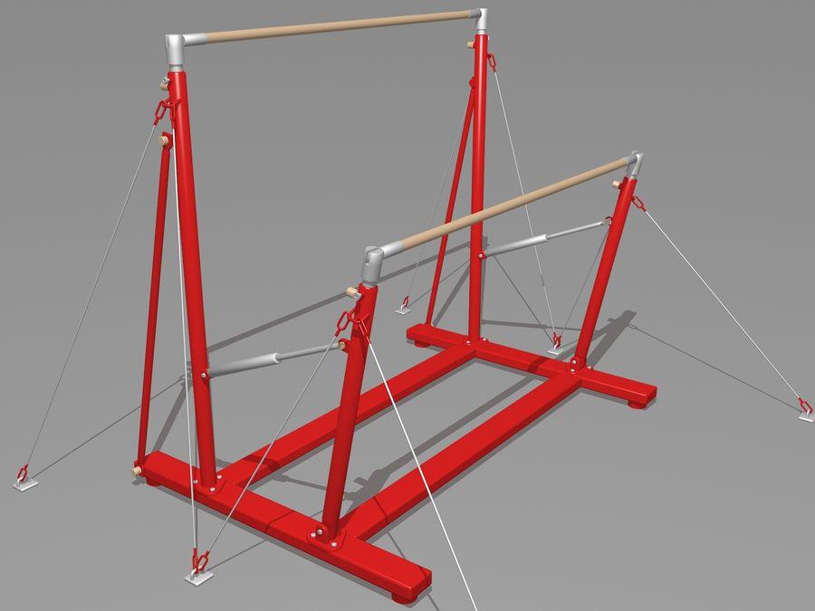 体操器材收藏 royalty-free 3d model - Preview no. 8