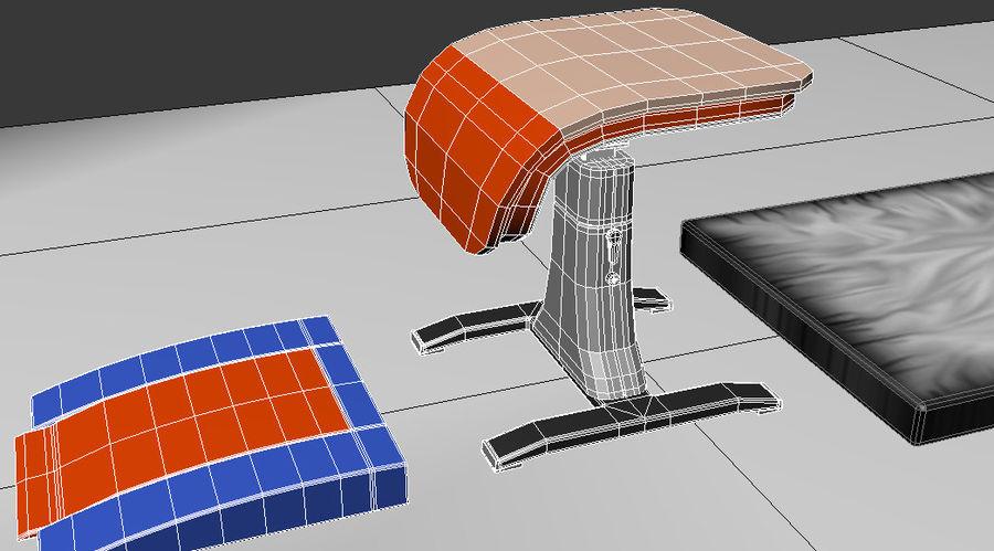 体操器材收藏 royalty-free 3d model - Preview no. 24