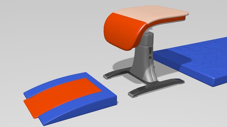 体操器材收藏 royalty-free 3d model - Preview no. 23
