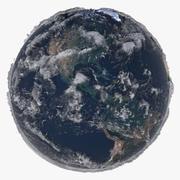 Modelo 3D da Terra de alívio 21K 3d model