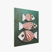 Лесная рыба 3d model