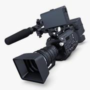 Videokamera Full HD 4K 3d model