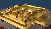 Chinesisches Gebäude der Verbotenen Stadt 3d model