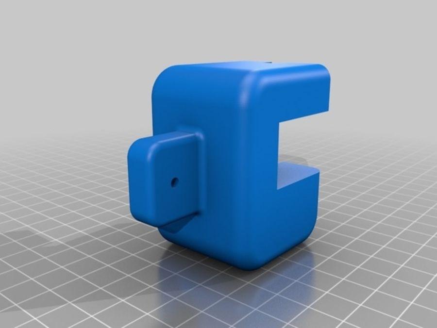 Ostrzarka DRUKARKA 3D royalty-free 3d model - Preview no. 14