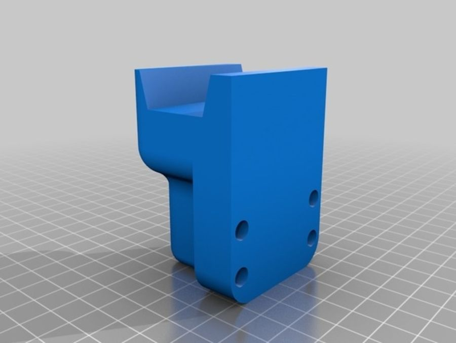 Ostrzarka DRUKARKA 3D royalty-free 3d model - Preview no. 20