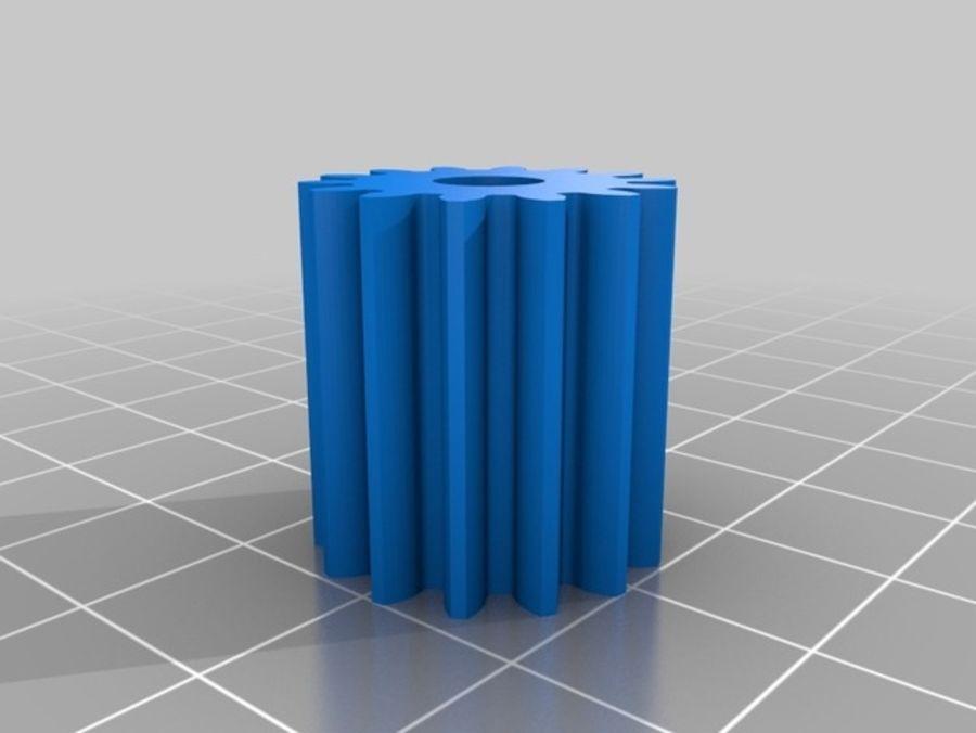 Ostrzarka DRUKARKA 3D royalty-free 3d model - Preview no. 24