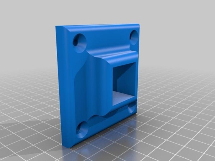 Ostrzarka DRUKARKA 3D royalty-free 3d model - Preview no. 10