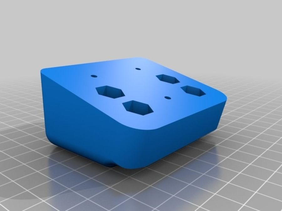 Ostrzarka DRUKARKA 3D royalty-free 3d model - Preview no. 12