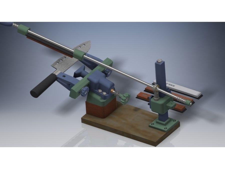 Ostrzarka DRUKARKA 3D royalty-free 3d model - Preview no. 2