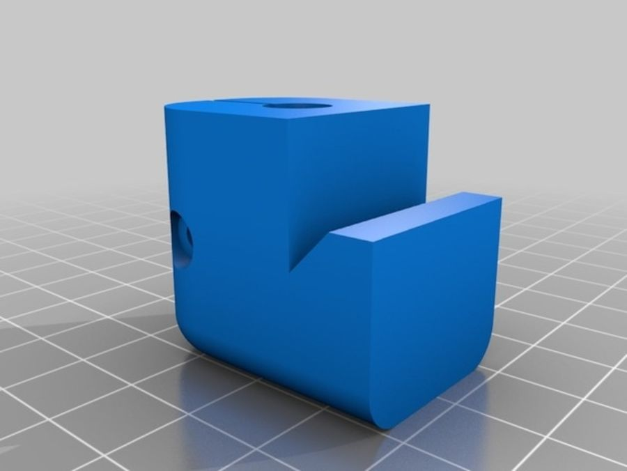 Ostrzarka DRUKARKA 3D royalty-free 3d model - Preview no. 6