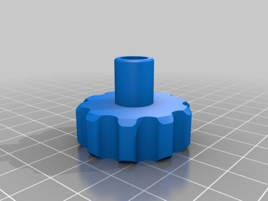 Ostrzarka DRUKARKA 3D royalty-free 3d model - Preview no. 21