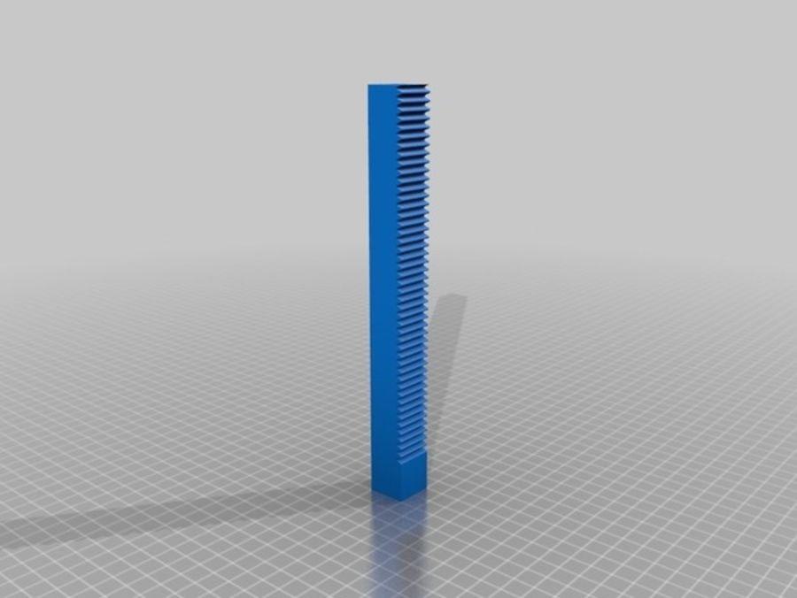 Ostrzarka DRUKARKA 3D royalty-free 3d model - Preview no. 8