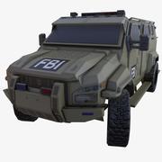 Ciężarówka Pit-Bull VX DUST 3d model