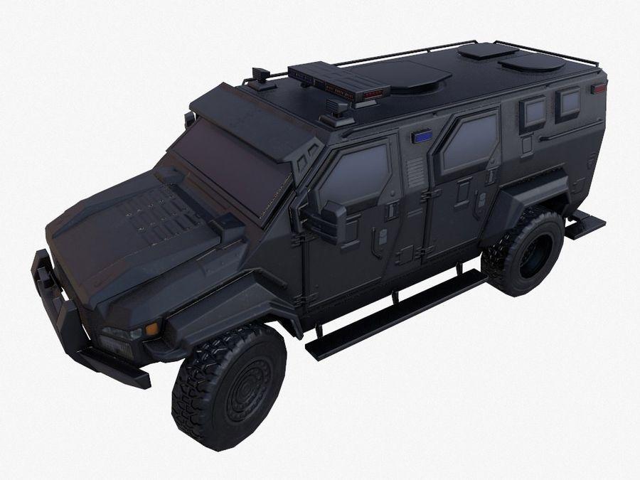 Pit-Bull VX Truck CZARNY royalty-free 3d model - Preview no. 2