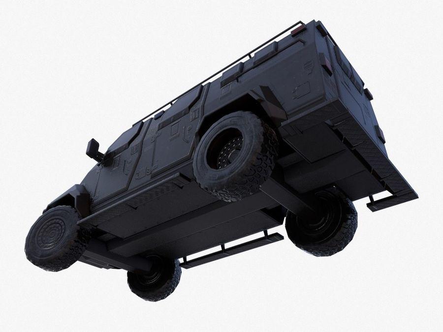 Pit-Bull VX Truck CZARNY royalty-free 3d model - Preview no. 10