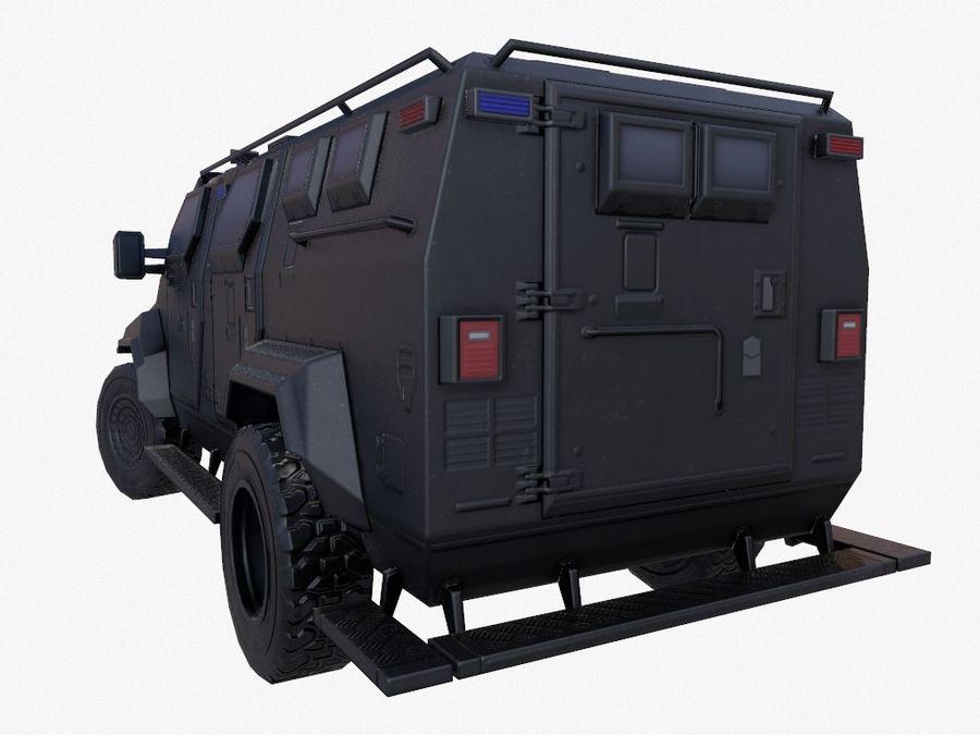 Pit-Bull VX Truck CZARNY royalty-free 3d model - Preview no. 8