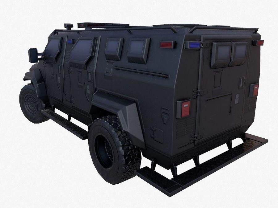 Pit-Bull VX Truck CZARNY royalty-free 3d model - Preview no. 3
