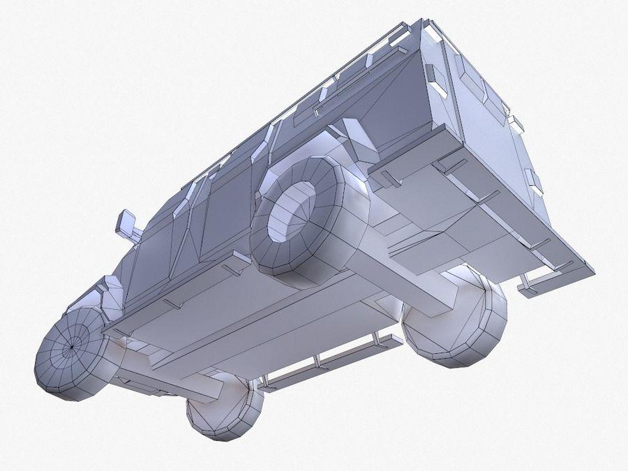 Pit-Bull VX Truck CZARNY royalty-free 3d model - Preview no. 16