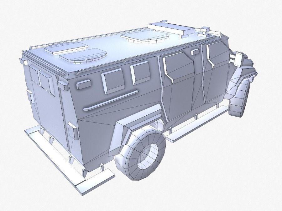 Pit-Bull VX Truck CZARNY royalty-free 3d model - Preview no. 15