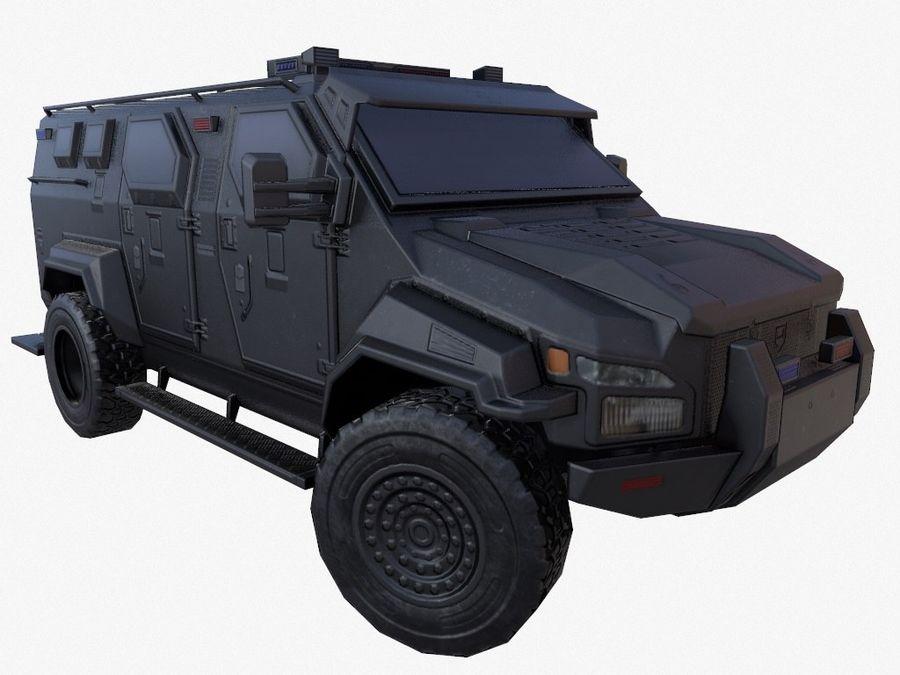 Pit-Bull VX Truck CZARNY royalty-free 3d model - Preview no. 5