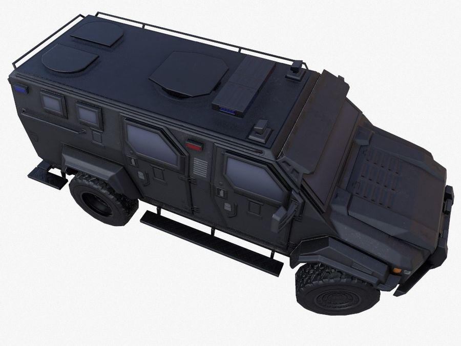 Pit-Bull VX Truck CZARNY royalty-free 3d model - Preview no. 6