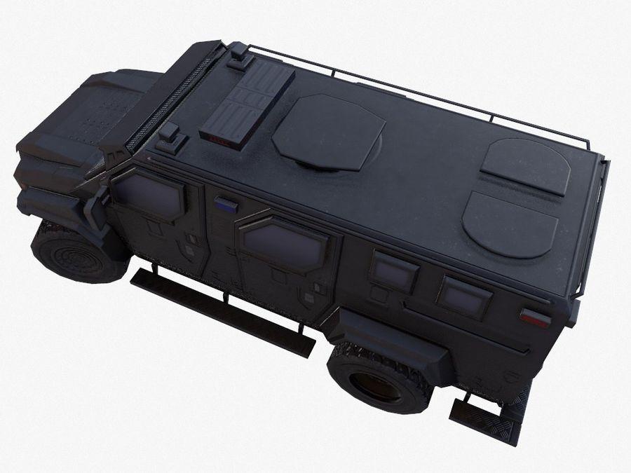 Pit-Bull VX Truck CZARNY royalty-free 3d model - Preview no. 7