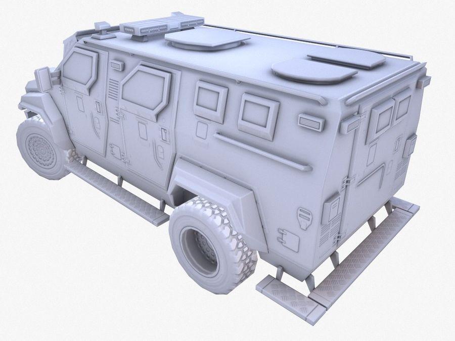Pit-Bull VX Truck CZARNY royalty-free 3d model - Preview no. 12