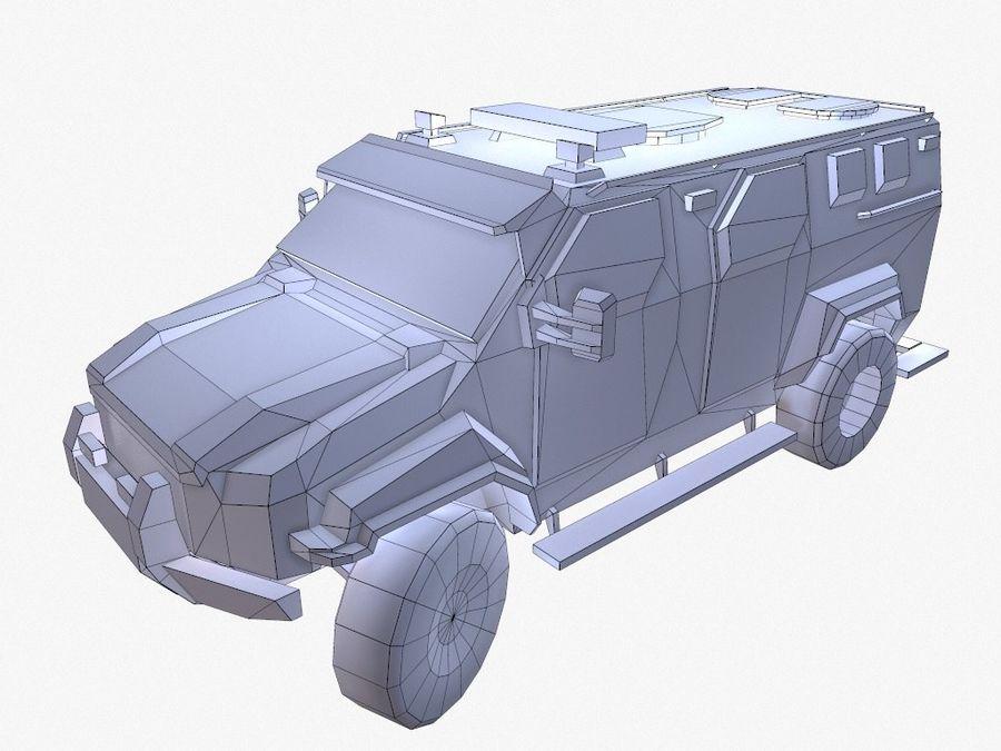 Pit-Bull VX Truck CZARNY royalty-free 3d model - Preview no. 14