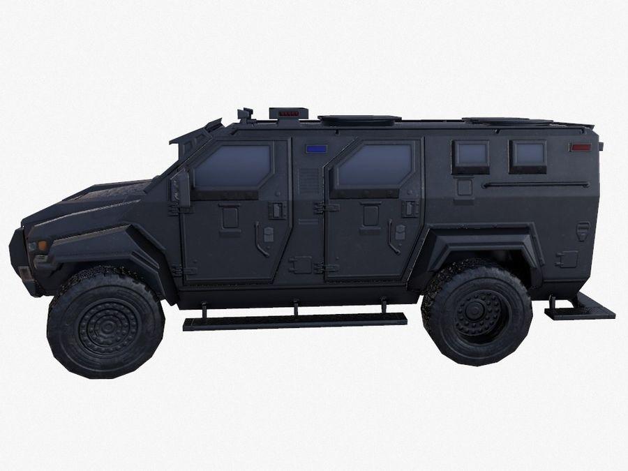 Pit-Bull VX Truck CZARNY royalty-free 3d model - Preview no. 9