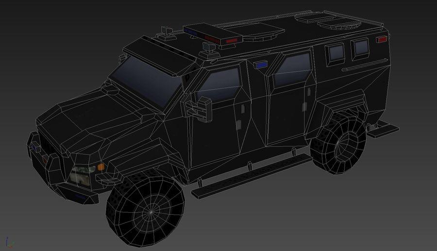 Pit-Bull VX Truck CZARNY royalty-free 3d model - Preview no. 17