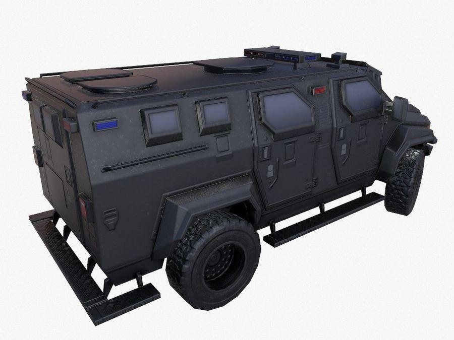 Pit-Bull VX Truck CZARNY royalty-free 3d model - Preview no. 4