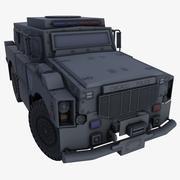 OSHKOSH ALPHA CHICAGO POLICE 3d model