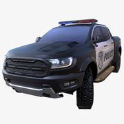 SUV police 3d model