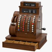 Caixa registradora 3d model