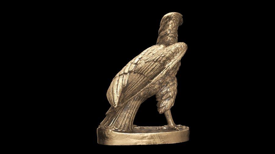 Statuetta Aquila 01 royalty-free 3d model - Preview no. 12
