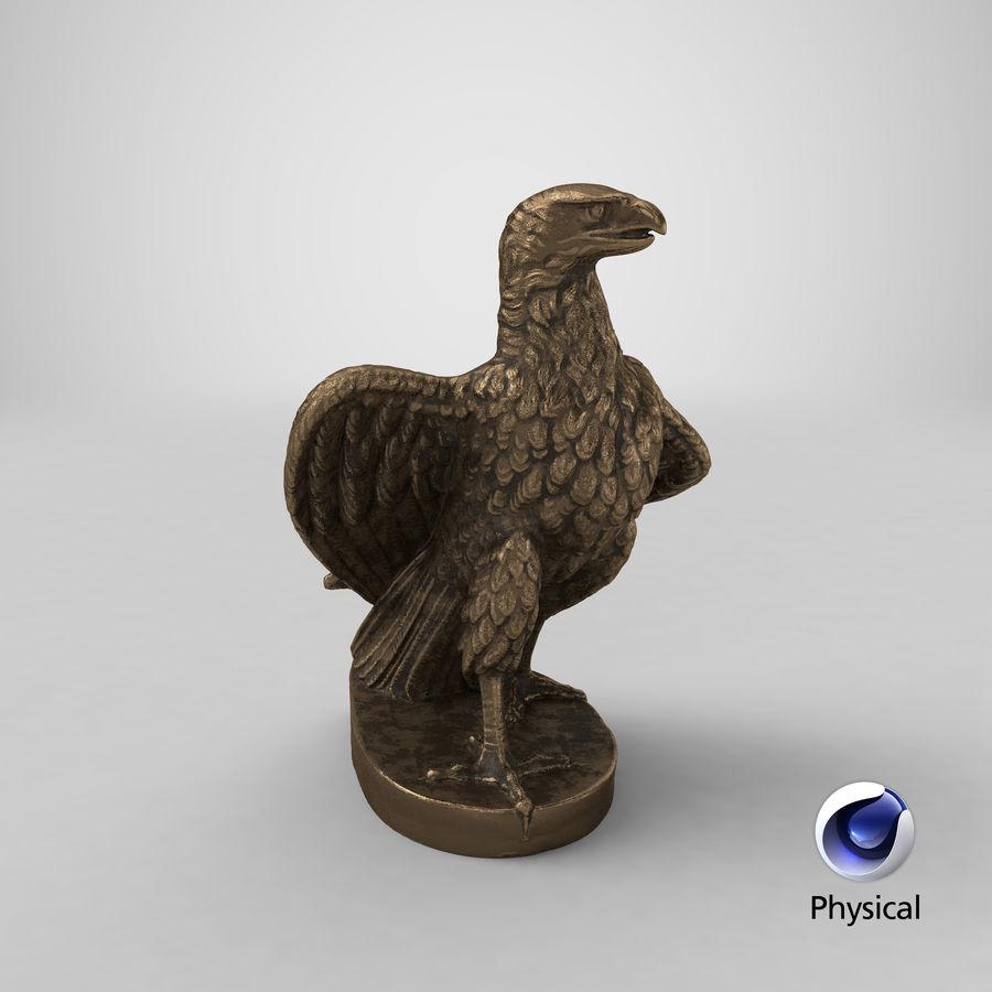 Statuetta Aquila 01 royalty-free 3d model - Preview no. 22