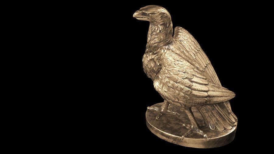 Statuetta Aquila 01 royalty-free 3d model - Preview no. 14