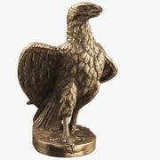 Statuette Eagle 01 3d model