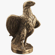 Statuetka Eagle 01 3d model