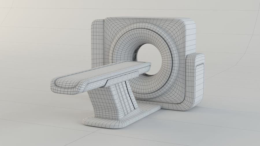 CT-scanner royalty-free 3d model - Preview no. 11