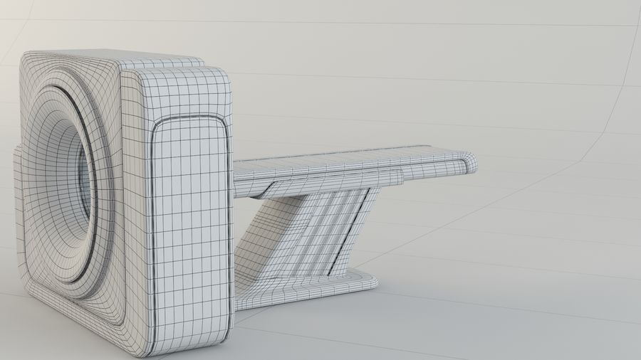 CT-scanner royalty-free 3d model - Preview no. 12
