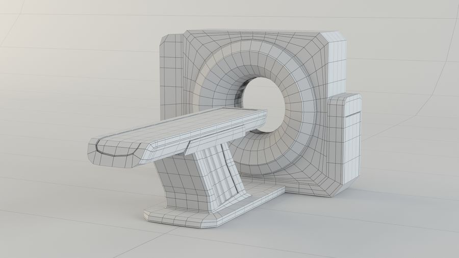 CT-scanner royalty-free 3d model - Preview no. 8