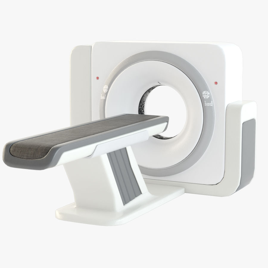 CT-scanner royalty-free 3d model - Preview no. 1