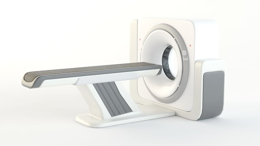 CT-scanner royalty-free 3d model - Preview no. 7