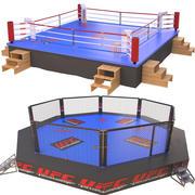 Walki z arenami 3d model